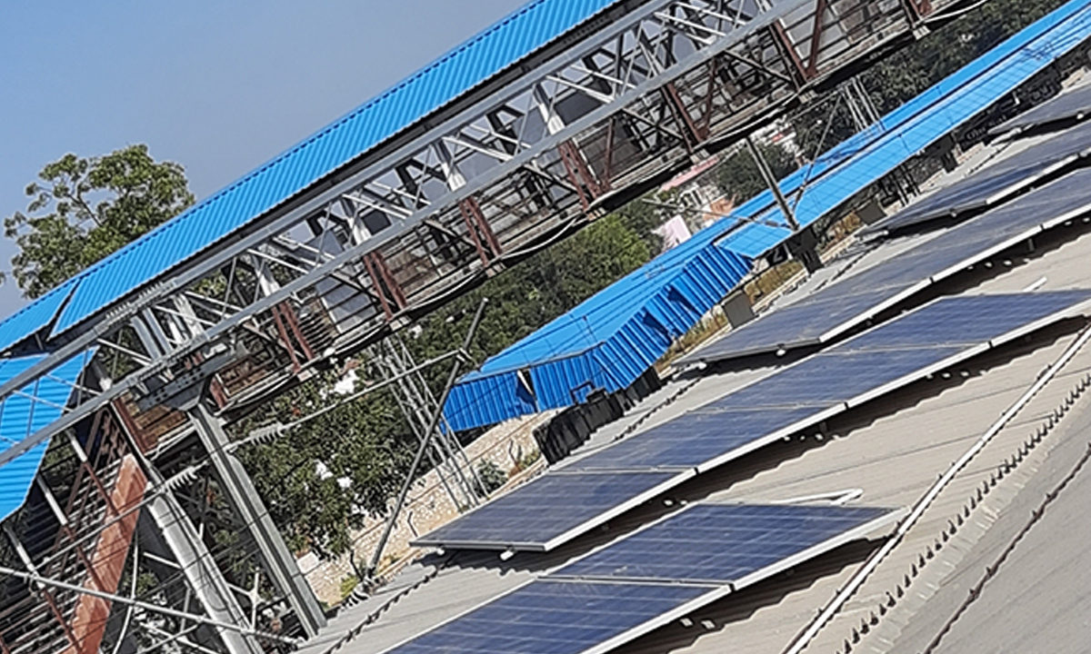 Solar Plant Installation in Dausa