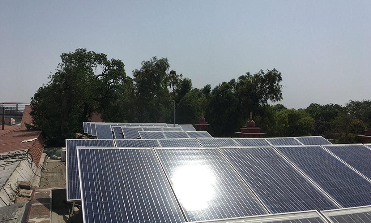 Solar Plant Installation in Bhawnaimandi