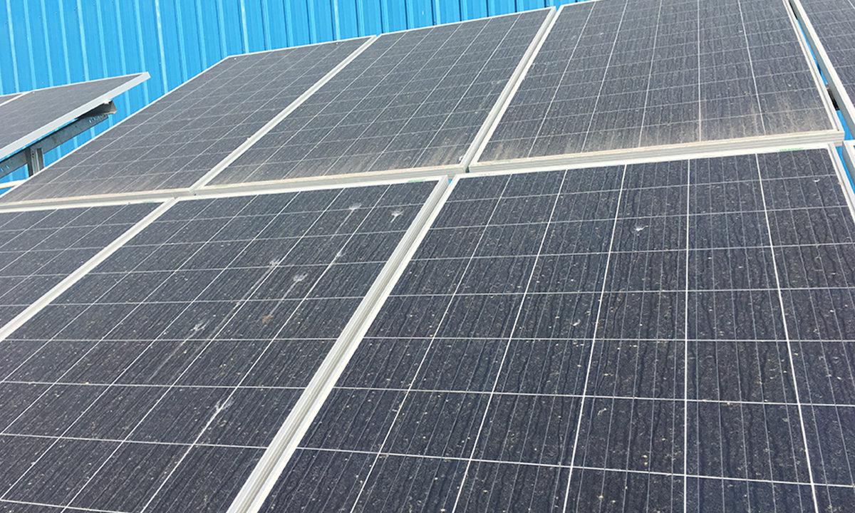 Solar Plant Installation in Balmer