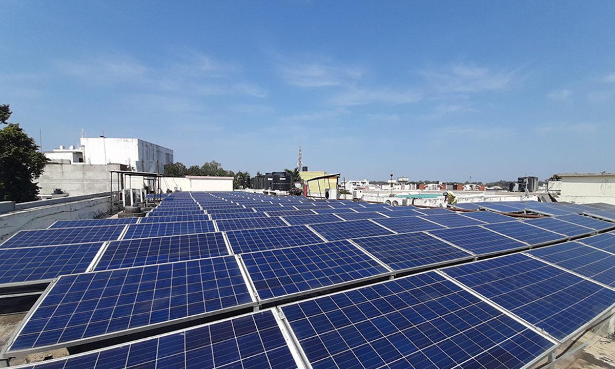 Solar Plant Installation in Licmeerut