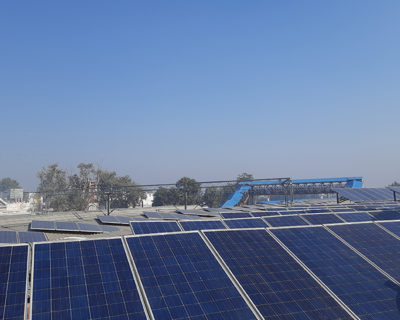 Solar Plant Installation in Dausa