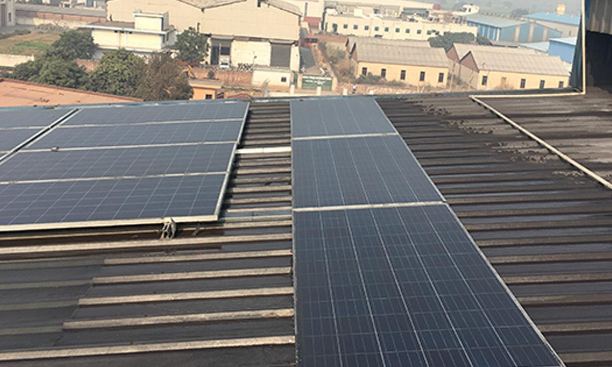 Solar Plant Installation in Rnt