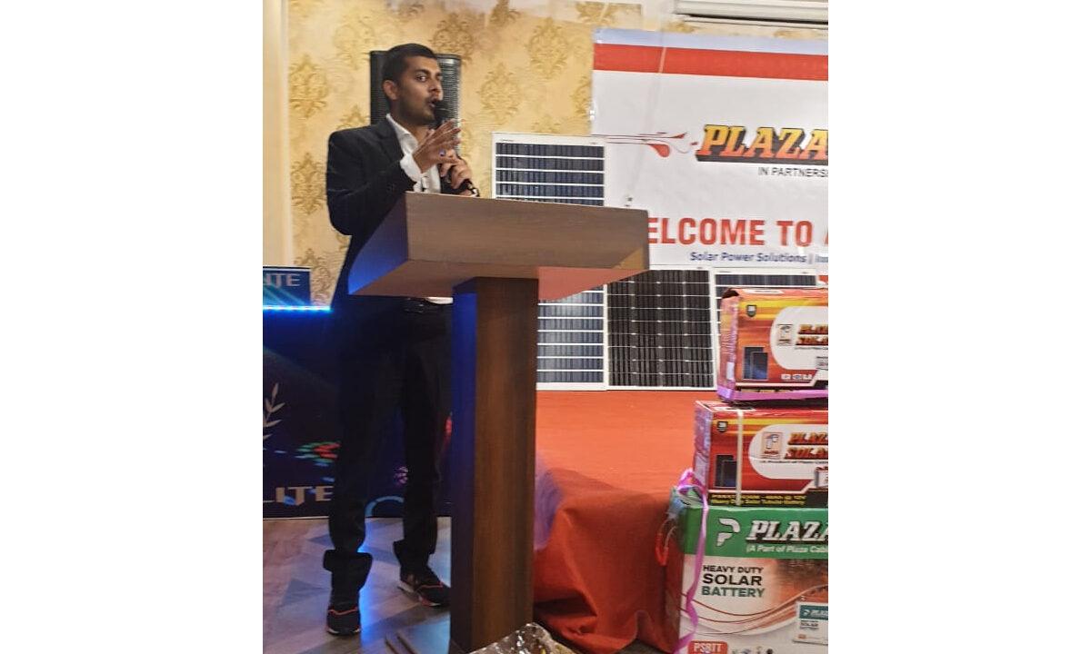 Plaza Solar Distributor Meet at Manu Electronic – Barabanki